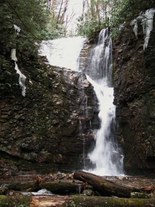 Rock Creek Falls (upper)