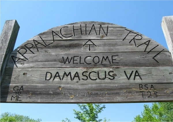 damascus a.t. sign